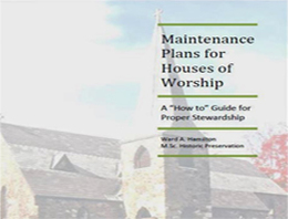 Maintenance plans for houses of worship